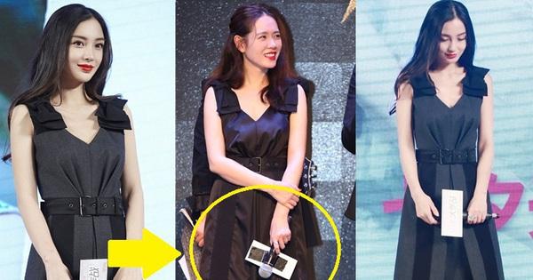 Diện váy giống Son Ye Jin nhưng nhờ là lượt váy áo phẳng phiu mà Angela Baby đã ''vượt mặt'' về độ sang chảnh
