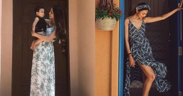 """Nhìn Thanh Hằng hay Phạm Hương diện váy maxi tạo dáng trước cửa, bạn sẽ rút ra được vài tips chụp ảnh """"sống ảo"""""""