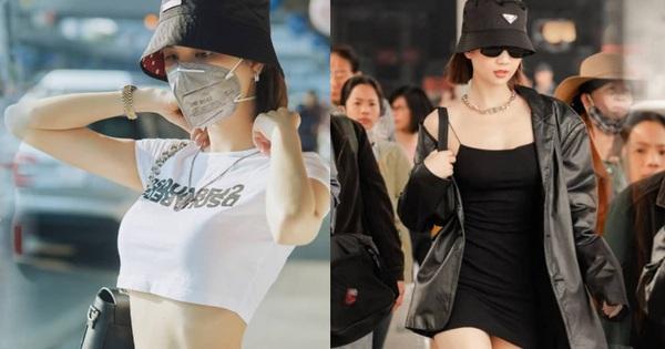 Thích Ngọc Trinh hay không cũng khó phủ nhận style sân bay tôn body nuột hết cỡ của cô, trong đó có 2 công thức khoe dáng ''bất bại''