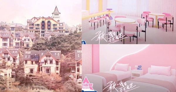 Ký túc xá như lâu đài cổ tích của ''Sáng Tạo Doanh'' chính thức hé lộ, đúng 1 trời 1 vực với ''nhà'' của học sinh Lisa