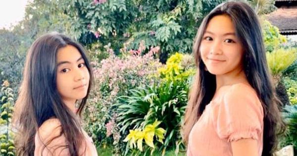 Vợ con MC Quyền Linh mặc 'đồng phục', Lọ Lem gây xôn xao khi ngày càng giống 'tượng đài nhan sắc'  Trương Bá Chi lúc trẻ
