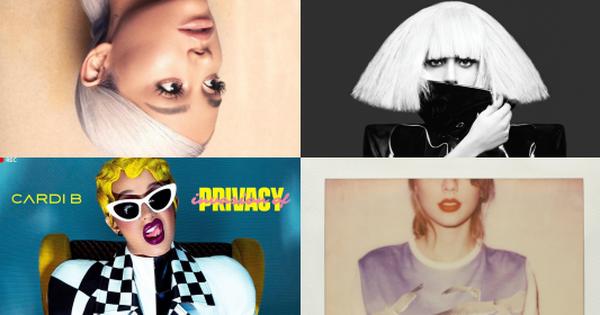 50 bìa album đẹp nhất mọi thời đại: Taylor Swift, Lady Gaga và Cardi B xếp chót bảng thua Ariana Grande, trong khi hạng nhất thuộc về... một trái chuối?