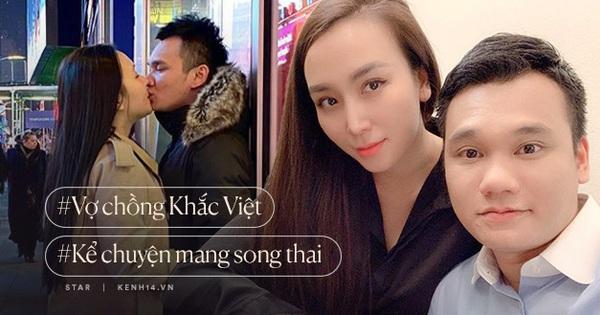 """Vợ chồng Khắc Việt kể chuyện mang song thai: """"Vừa nhận tin vui đã đi mua liền 2 căn nhà chuẩn bị đón thiên thần nhỏ''"""