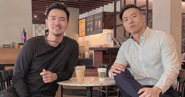 Hậu lùm xùm chuyện hôn nhân, Michael Trương bất ngờ ''hẹn hò'' với một anh chàng màu Tím của ''Người ấy là ai''