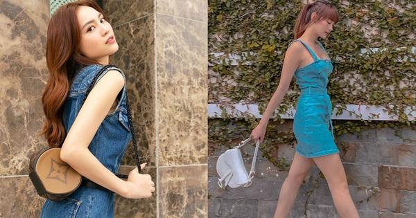 Minh Hằng và Lan Ngọc đều hack tuổi thần sầu nhờ váy denim, muốn mặc đẹp như họ nhưng không ''cưa sừng làm nghé'' thì bạn hãy nhớ vài tips