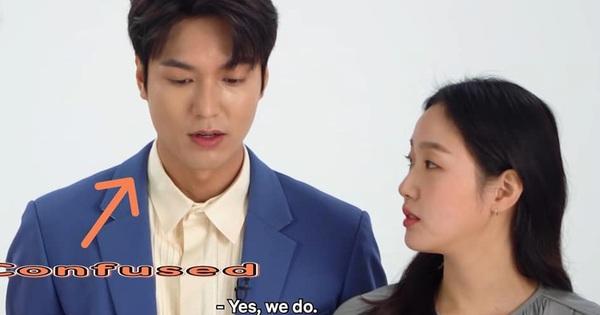 Nhào nhào khoảnh khắc Kim Go Eun nhìn Lee Min Ho đắm đuối: Sự chú ý của ta đã va phải bộ phận này của chàng