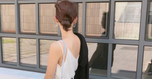 3 kiểu tóc búi thấp gái Hàn diện nguyên hè: Mát lịm mà vẫn cực sang, chưa mất 1 phút đã xong ngay