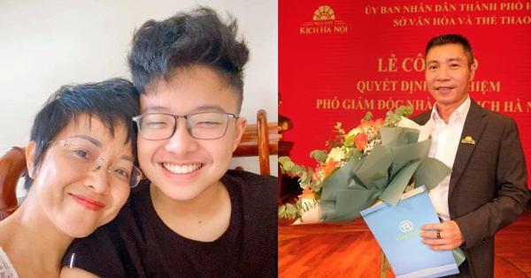 NSND Công Lý nhậm chức Phó Giám Đốc Nhà hát Kịch Hà Nội, MC Thảo Vân liền có hành động chứng minh mối quan hệ với chồng cũ