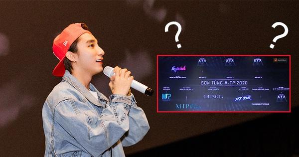 Sơn Tùng M-TP ra mắt phim rất hoành tráng nhưng SKY TOUR Movie không nằm trong 7 dự án khủng năm 2020 từng công bố trước đó
