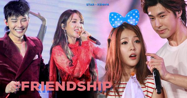 Những cặp sao Hàn khác giới bị soi ''hint'' tình cảm tung tóe, ai dè vào hết diện friendzone: Có gì đáng ngờ không đây?