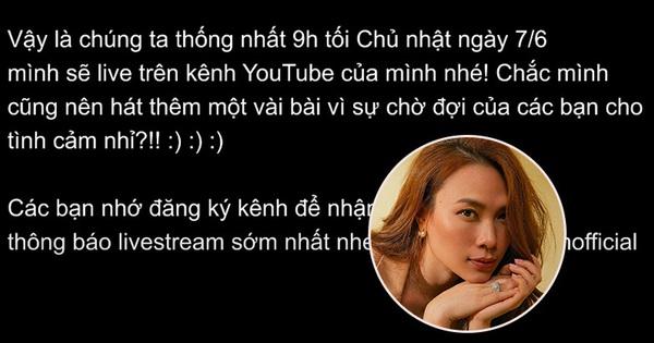 Không ai như Mỹ Tâm: Thông báo livestream thôi mà đầu tư hẳn video ''không nhạc, không lời, không tiếng động'' đăng lên YouTube như teaser MV, ủa chị?