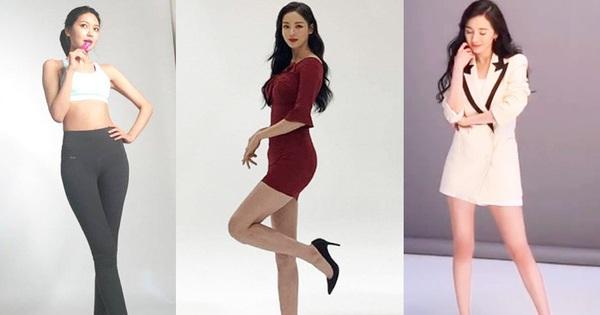 Vẫn biết những sao nữ này chân dài ''cân'' mọi outfit nhưng xem ảnh hậu trường vẫn phải sốc, hack não nhất là ''thánh body'' Lee Da Hee