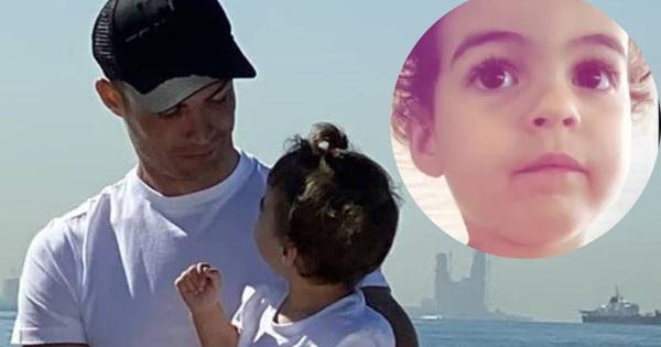 Công chúa nhỏ nhà Ronaldo thổ lộ cực đáng yêu: ''Bố sẽ giận nếu con ăn món này''