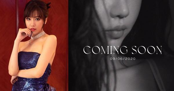 Min thả ảnh ''Coming soon'' vào 9/6, bất ngờ hơn cả việc nữ ca sĩ tóc nay đã dài là màn đoán tên bài hát #CKM thành ''có khuyến mãi'' siêu nhây của Trang Hý