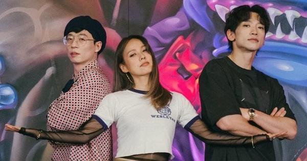 Nhóm nhạc ''tân binh khủng long'' từ Yoo Jae Suk - Lee Hyori - Bi Rain tập nhảy ''loạn xì ngầu'' khiến fan ''cười bò''