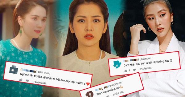 Hội bạn thân Quỳnh Anh Shyn, Salim, SunHT ''mê tít'' MV của Chi Pu nhưng netizen lại có phản ứng trái chiều, chỉ đồng lòng 1 ý kiến đó là... Ngọc Trinh quá đẹp!