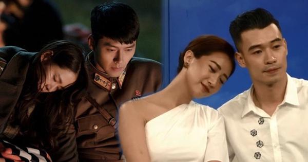 Kiều Ly - Nhật Linh tạo dáng giống cặp đôi ''Hạ cánh nơi anh'', tiết lộ về mối quan hệ sau ''Người ấy là ai''