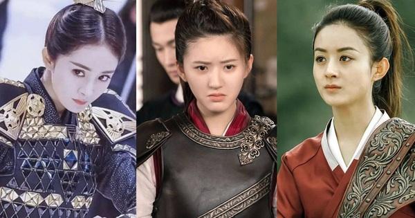 10 nữ tướng siêu ngầu màn ảnh Hoa ngữ: Ai cũng đẹp lịm người nhưng đều khó mà vượt mặt Triệu Lộ Tư ở một điểm