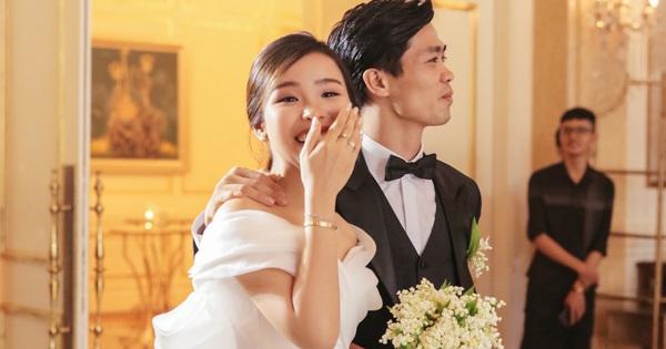 Fan ''quắn quéo'' khi nghe Công Phượng gọi vợ sắp cưới Viên Minh là ''bạn đời''