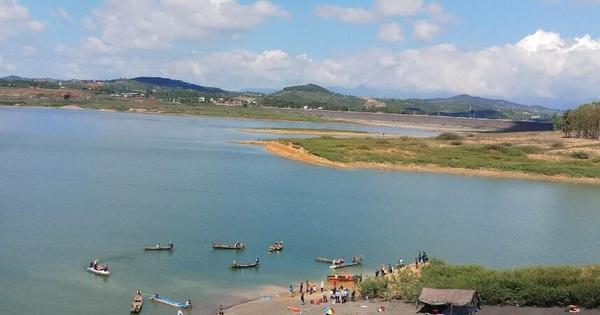 2 học sinh lớp 8 chết đuối thương tâm tại hồ thủy điện Đại Ninh