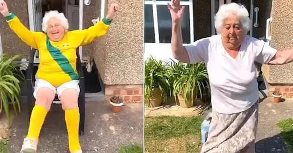 Thể hiện skill chơi bóng thần sầu và nhảy cover siêu đáng yêu, cụ bà 88 tuổi trở thành hiện tượng mạng khiến lớp trẻ cũng phải mê mẩn