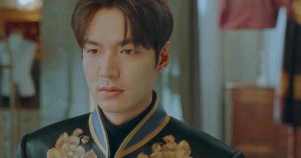 Quân Vương Bất Diệt tập 15: Lee Min Ho khoác bộ lễ phục trịnh trọng nhất, quyết chiến sinh tử để cứu Kim Go Eun