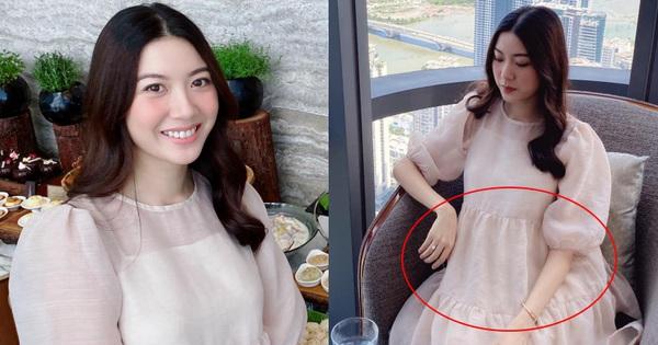 Chỉ với 1 chi tiết, Thuý Vân đã làm rộ nghi vấn đã mang thai con đầu lòng với ông xã doanh nhân