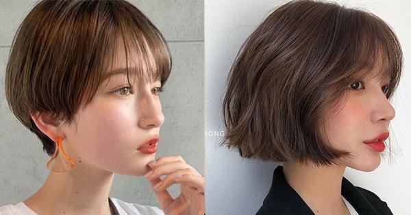 6 kiểu tóc ngắn giúp mặt nhỏ gọn như ''tiêm botox'', các hairstylist Hàn khuyên bạn năm nay nên thử một lần