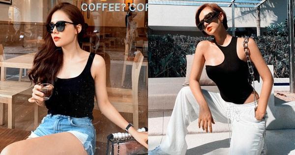 Chị chị em em như Phanh Lee – Huyền Lizzie: Mặc sang-ngầu có đôi, hễ diện bikini thì sexy một 9 một 10
