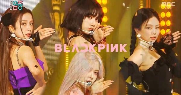 BLACKPINK giành cúp thứ 5, khoe outfit mới mỗi người một phách nhưng riêng Rosé trông giống... lightstick của nhóm thế này?