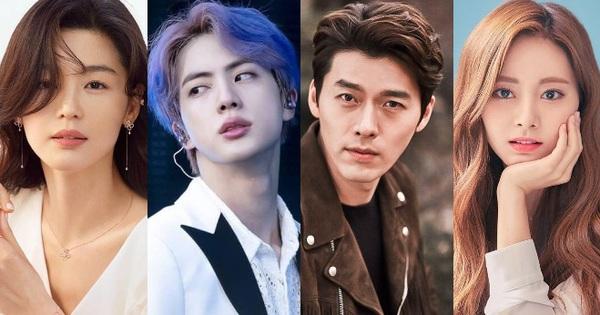 Top 10 sao Hàn khí chất quý tộc nhất: Hyun Bin hạng thấp bất ngờ, ''mợ chảnh'' Jeon Ji Hyun lại bị mỹ nam BTS vượt mặt?