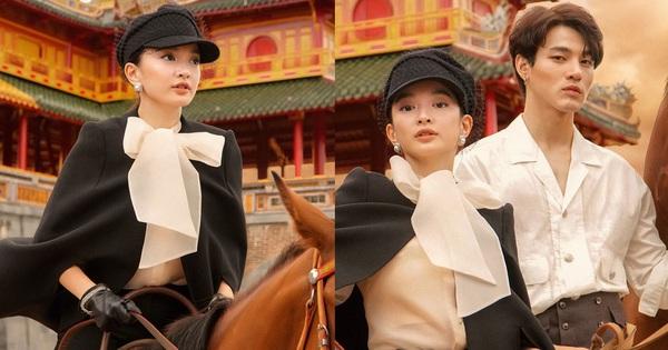 """Kaity Nguyễn chính thức gia nhập """"vũ trụ"""" Gái Già Lắm Chiêu, thần thái cưỡi ngựa giữa đại nội đẹp mê hồn"""