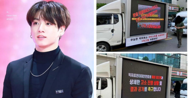 Tranh cãi vụ fan BTS thuê xe tải kiện Big Hit: Tưởng đòi công bằng chính đáng cho nhóm ai ngờ lại gây lục đục nội bộ, vì sao nên nỗi?