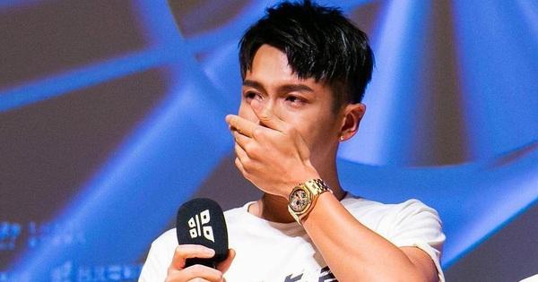 Sau 6 năm mất sự nghiệp vì scandal ma tuý, mỹ nam ''You''re Apple Of My Eyes'' khóc như mưa trong họp báo comeback