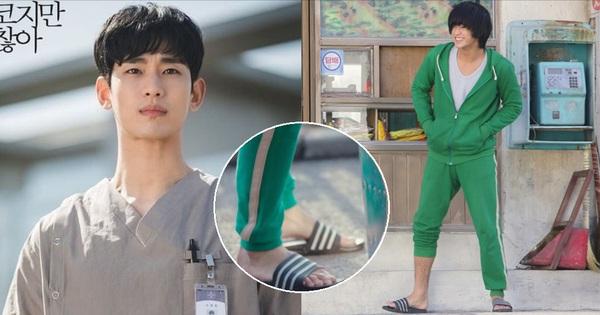 ''Tiết kiệm'' như anh Kim Soo Hyun: 7 năm vẫn đi một đôi dép, từ thời Ẩn Thân sang tận Điên Thì Có Sao chứ chẳng đùa!