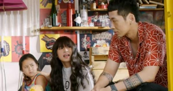 Hóa soái ca chuẩn Hàn, Tuấn Trần vẫn bị hotgirl Mắt Biếc mắng như con ở tập 2 Xin Chào Papa