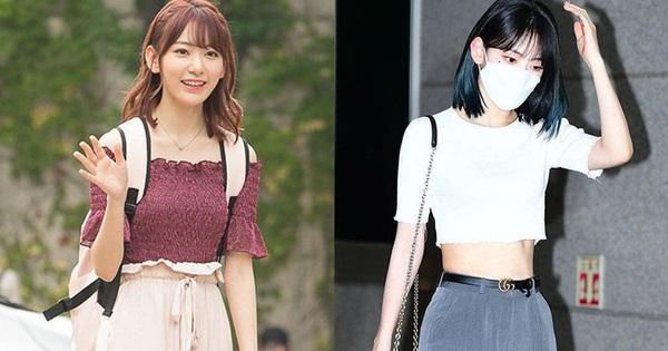 Lột xác từ style Nhật ''thắm thơm'' sang style Hàn cá tính, Sakura (IZ*ONE) khiến netizen phải trầm trồ không ngớt