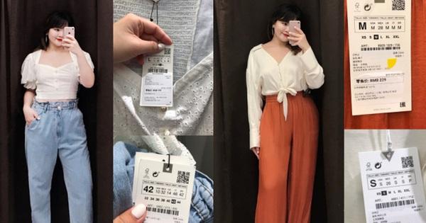 Cao 1m65 nặng 72kg, cô nàng này chọn được hơn 10 món ở Zara giúp thân hình nhìn gọn hơn hẳn