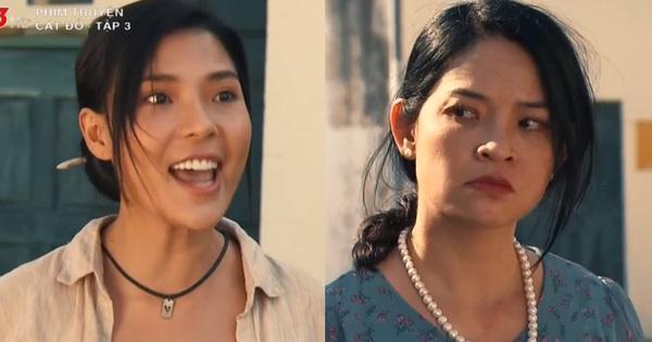 Tiểu tam ngầu lòi phim Việt vừa gọi tên Thúy Diễm (Cát Đỏ): Tát lật mặt bà cả rồi hốt luôn gia tài của chồng người?