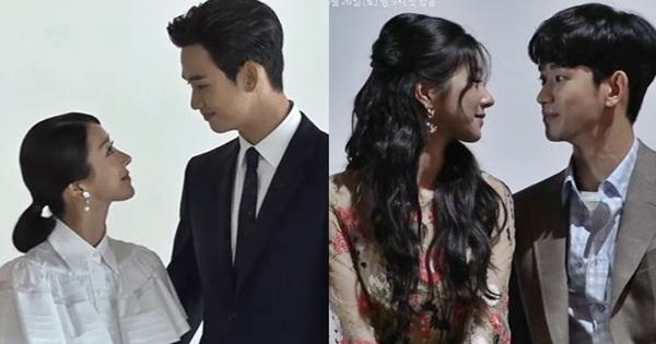 Loạt khoảnh khắc thính triền miên của Kim Soo Hyun - Seo Ye Ji ở hậu trường Điên Thì Có Sao