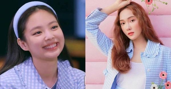 Hôm trước vừa đi chơi thân thiết, nay Jennie - Jessica lại diện áo đôi: Jennie xinh muốn xỉu nhưng mix đồ ''sai quá sai''