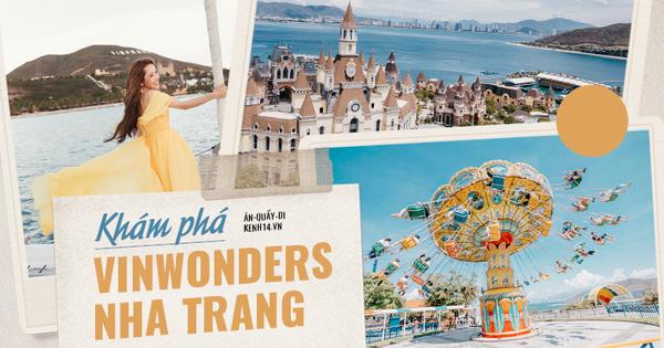 Khám phá VinWonders Nha Trang - khu vui chơi, giải trí hot nhất hè 2020 vừa xuất hiện trong show của Chi Pu