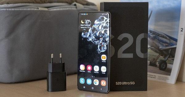 Mất bao lâu để sạc đầy viên pin 5000mAh của Galaxy S20 Ultra với củ sạc nhanh 25W?