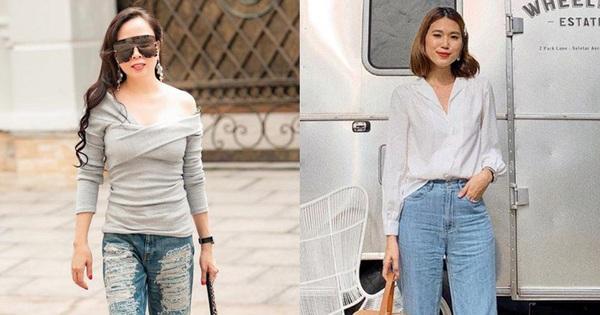 Mắc 4 sai lầm này khi diện quần jeans, các chị em đã tự đưa tên mình vào ''top mặc xấu chốn công sở''