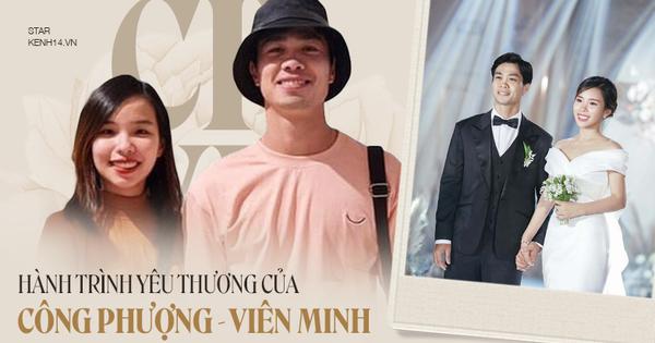 Công Phượng - Viên Minh: Chàng cầu thủ bén duyên với fangirl gia thế khủng, từ hẹn hò bí mật đến siêu đám cưới cả Vbiz mong chờ