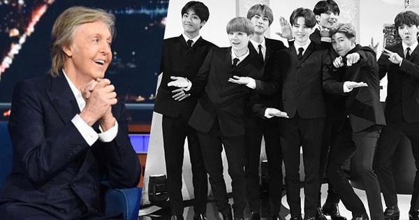 """Netizen ''nổi da gà"""" khi Paul McCartney khen ngợi và thú nhận thích xem BTS: Khi huyền thoại nhắc đến huyền thoại!"""