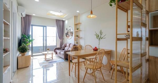 Mất chưa đến 100 triệu, căn hộ 75m2 ở Đà Nẵng vẫn có không gian xinh xắn, nhìn là muốn dọn đến ở luôn
