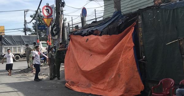 ''Đại ca giang hồ '' tử vong trong tư thế treo cổ ở căn chòi bán nước, để lại mảnh giấy ghi bị đánh đập, chèn ép ở Sài Gòn