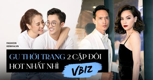 2 cặp đôi siêu hot của Vbiz: Cường Đô La - Thu Trang đơn giản nhưng vẫn ''xịn xò'' , Hà Hồ - Kim Lý lên đồ thế nào mà hút fan vậy?