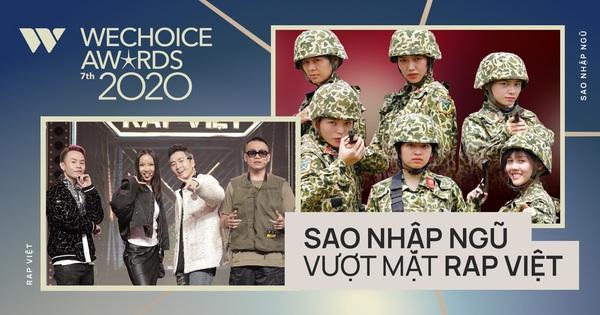 WeChoice Awards 2020: Sau gần 1 ngày bình chọn, Sao Nhập Ngũ bất ngờ vượt mặt Rap Việt